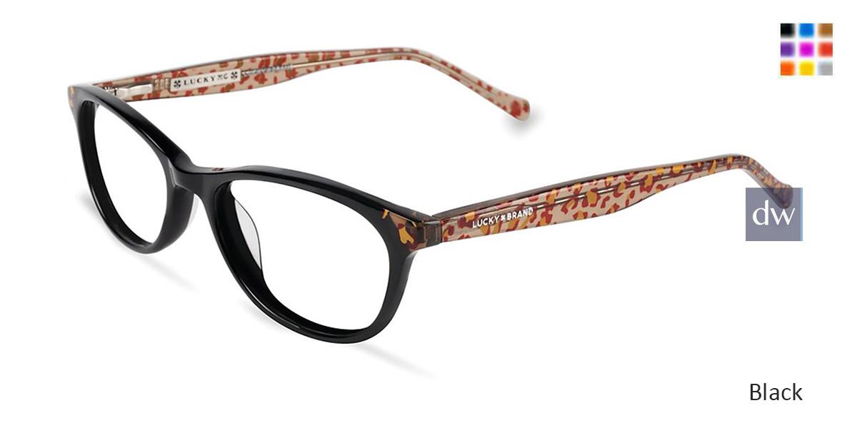 Black Lucky Kid D700 Eyeglasses.