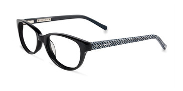 Black Lucky Kid D701 Eyeglasses - Teenager