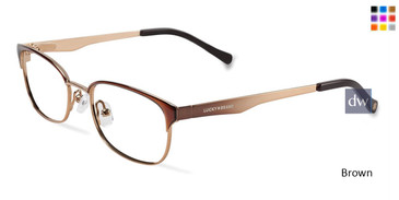 Brown Lucky Kid D703 Eyeglasses