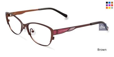 Brown Lucky Kid D704 Eyeglasses