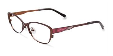 Brown Lucky Kid D704 Eyeglasses.