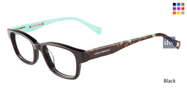 Black Lucky Kid D705 Eyeglasses.