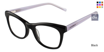 Black Lucky Kid D708 Eyeglasses - Teenager