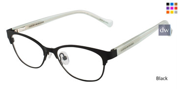Black Lucky Kid D710 Eyeglasses - Teenager