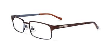Brown Lucky Kid D801 Eyeglasses - Teenager