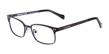 Black Lucky Kid D803 Eyeglasses - Teenager