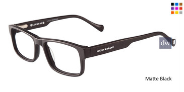 Matt Black Lucky Kid D804 Eyeglasses