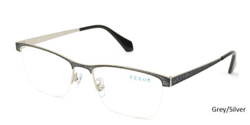 Grey/Silver C-Zone E2218 Eyeglasses
