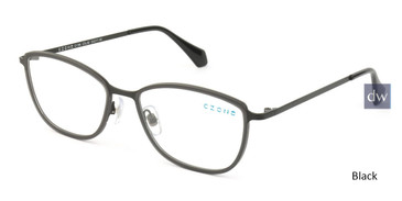 Black C-Zone E1188 Eyeglasses.
