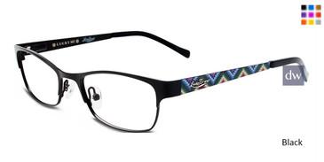 Black Lucky Kid Wiggle Eyeglasses