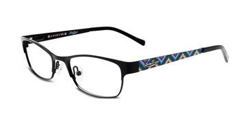 Black Lucky Kid Wiggle Eyeglasses - Teenager