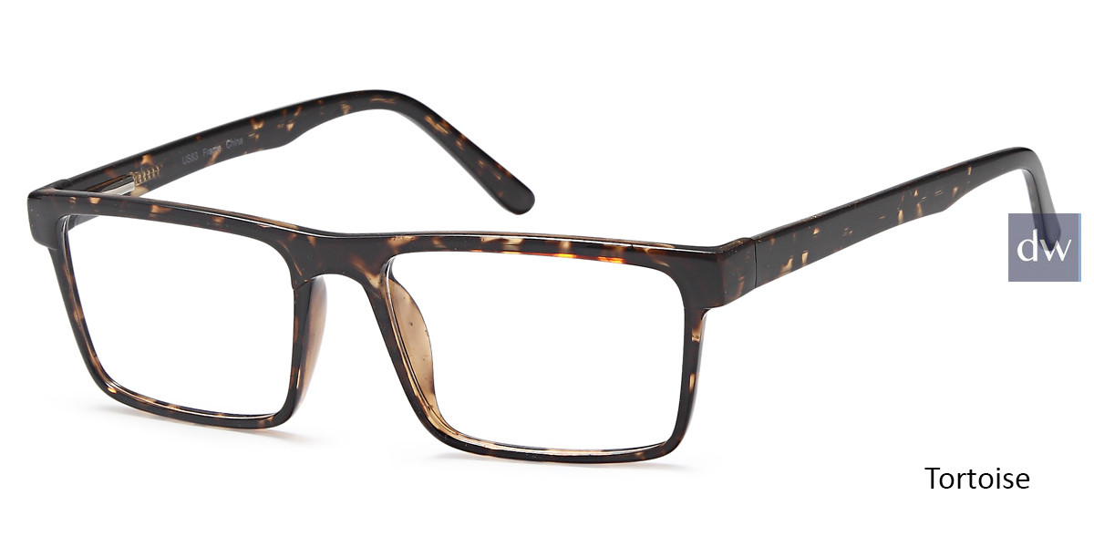 Tortoise Capri US 83 Eyeglasses.
