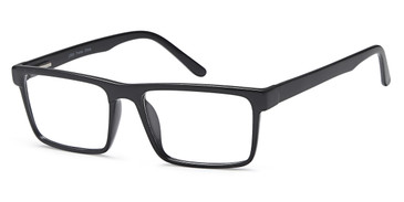 Black/Clear Capri 4U US 83 Eyeglasses.