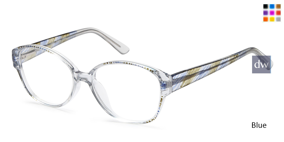 Blue Capri US84 Eyeglasses
