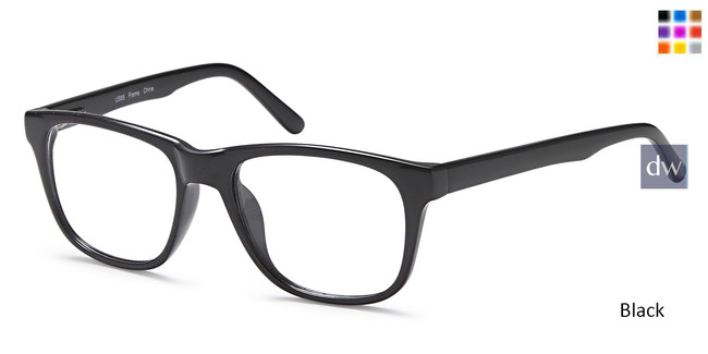 Black Capri US85 Eyeglasses
