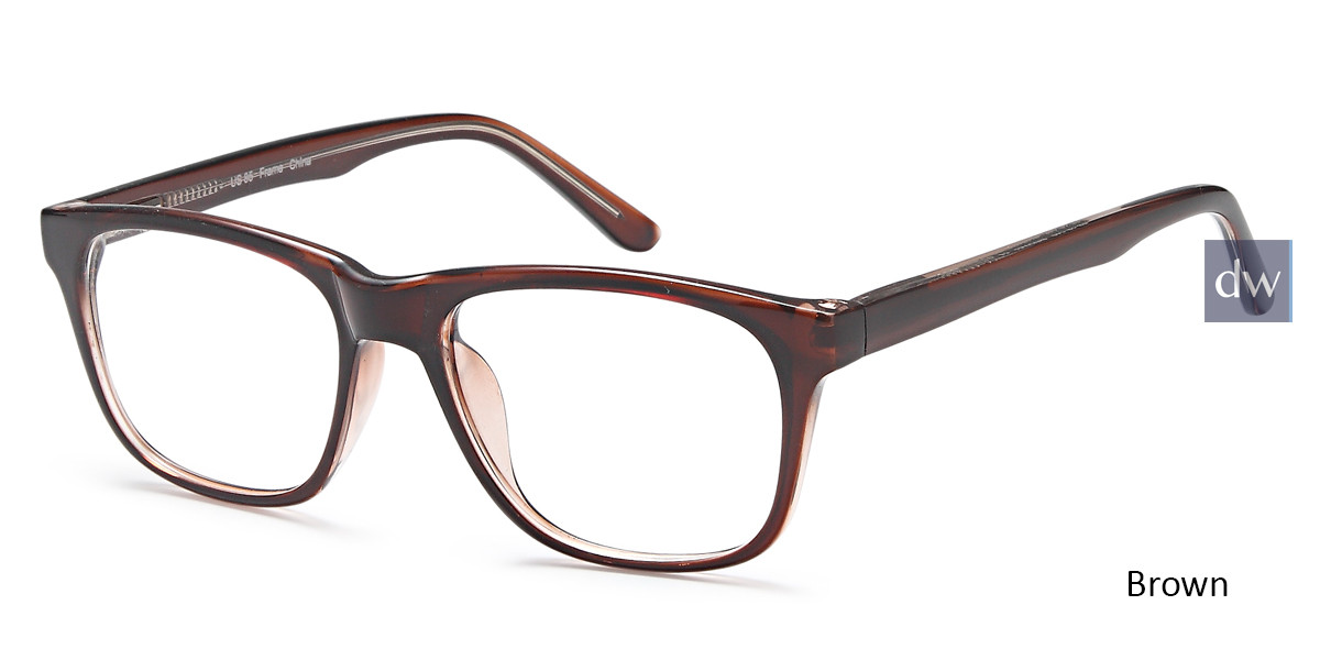 Brown Capri US85 Eyeglasses