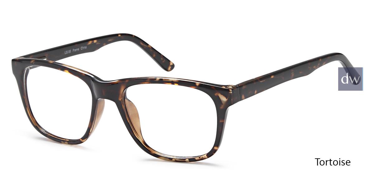 Tortoise Capri US85 Eyeglasses