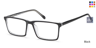 Black Capri US86 Eyeglasses