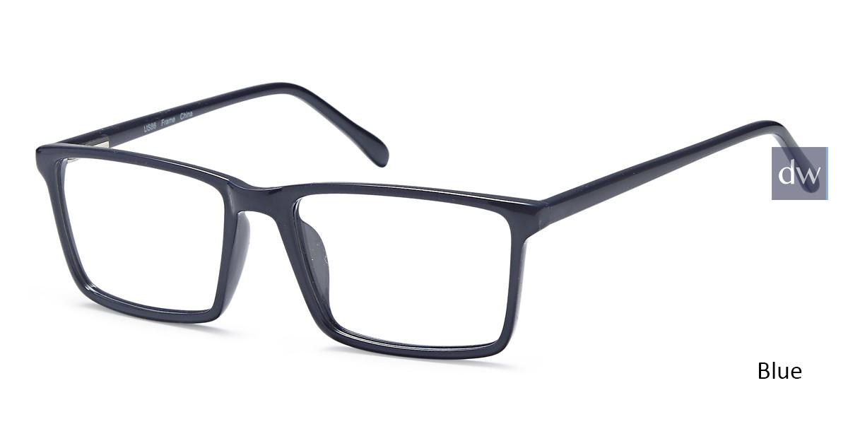 Blue Capri US86 Eyeglasses