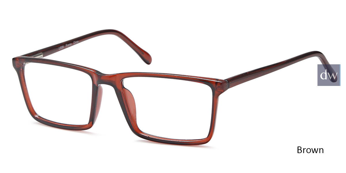 Brown Capri US86 Eyeglasses