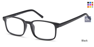 Black Capri US 87 Eyeglasses.
