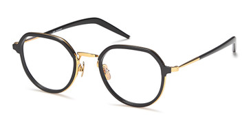 Black/Gold Capri AGO 1008 Eyeglasses.