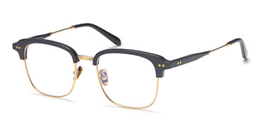 Gold/Navy Capri AGO 1014 Eyeglasses