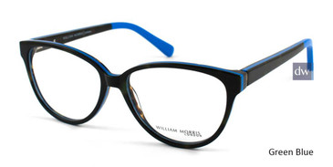 Green/Blue William Morris London WM50049 Eyeglasses.