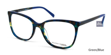 Green/Blue William Morris London WM50042 Eyeglasses.