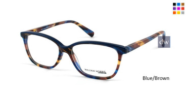 Blue/Brown William Morris London WM50051 Eyeglasses.