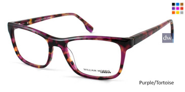 Purple/Tortoise William Morris London WM50052 Eyeglasses