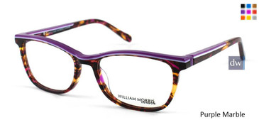 Purple Marble William Morris London WM50036 Eyeglasses
