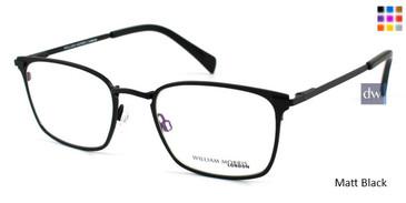 Black Matt William Morris London WM50038 Eyeglasses