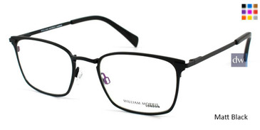 Matt Black  William Morris London WM50038 Eyeglasses