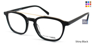 Shiny Black William Morris London WM50041 Eyeglasses