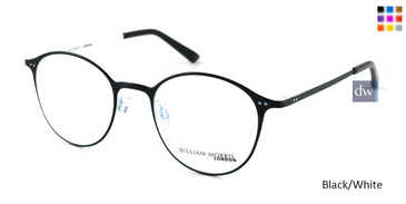 Black/White William Morris London WM50057 Eyeglasses