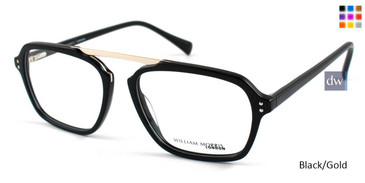 Black/Gold William Morris London WM50040 Eyeglasses