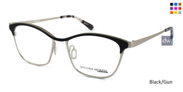 Black/Gun William Morris London WM50015 Eyeglasses
