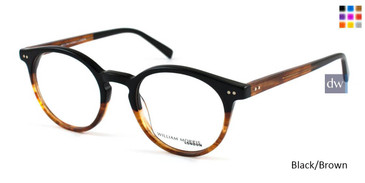 Black/Brown William Morris London WM50018 Eyeglasses- Teenager