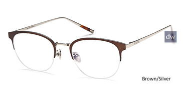 Brown/Silver Capri MF90007 Eyeglasses.