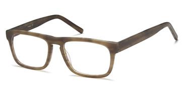 Olive/Green Capri BIGGU B768 Eyeglasses