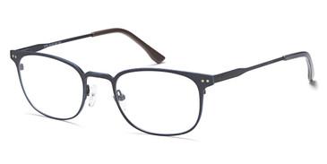 Antique Blue Capri BIGGU B786 Eyeglasses.