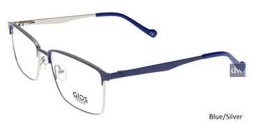 Blue/Silver Gios Italia GLP100062 Eyeglasses