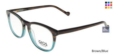 Brown/Blue Gios Italia GRF500107 Eyeglasses