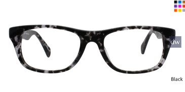 Black GEEK BARISTA Eyeglasses