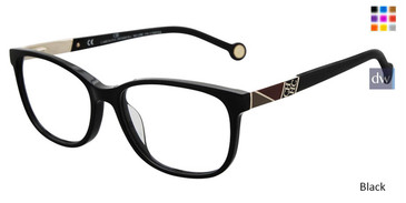 Black Carolina Herrera VHE760K Eyeglasses