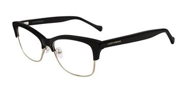 Black Lucky Brand D109 Eyeglasses.