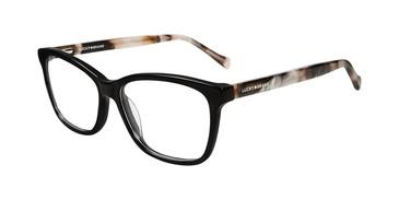Black Lucky Brand D214 Eyeglasses.
