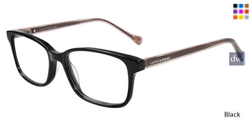 Black Lucky Brand D215 Eyeglasses
