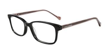 Black Lucky Brand D215 Eyeglasses.